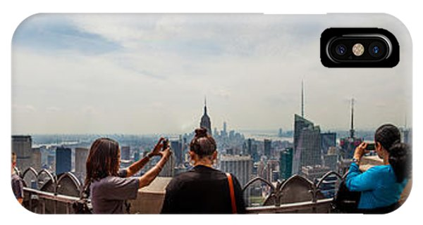 Empire iPhone Case - Top Of The Rock Experience by Az Jackson