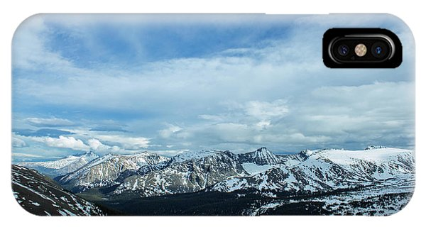 Top Of The Rockies IPhone Case
