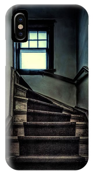 Inside iPhone Case - Top Of The Stairs by Scott Norris