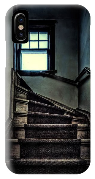 Old Houses iPhone Case - Top Of The Stairs by Scott Norris