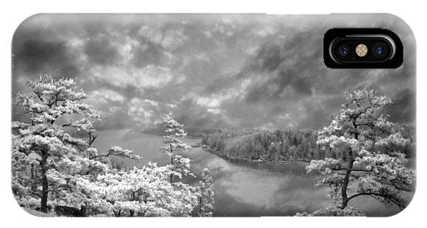 Top Of Tip Toe Mountain, Vinalhaven, Maine IPhone Case