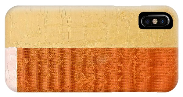 Topaz Pink Orange IPhone Case