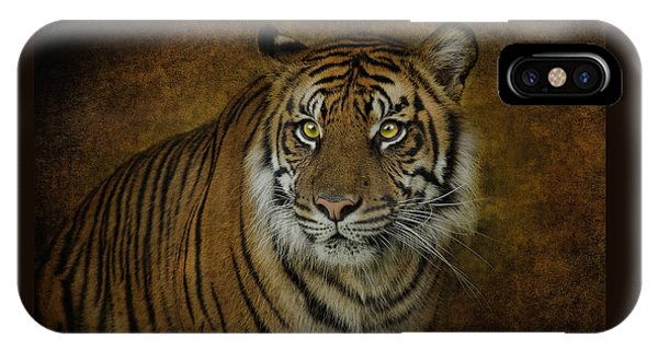 Topaz Tiger  IPhone Case