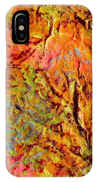 Topographical Map Color Poem IPhone Case