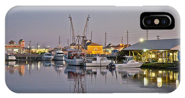 Topsail Island Nc Sound IPhone Case