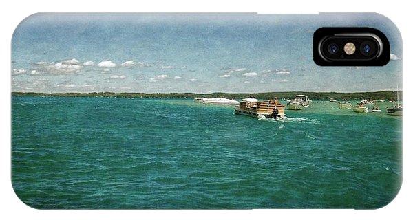 Michelle iPhone Case - Torch Lake Sandbar Dropoff by Michelle Calkins