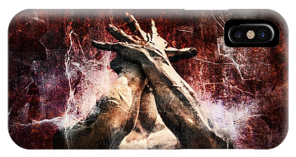 Anguish iPhone Case - Torment by Andrew Paranavitana