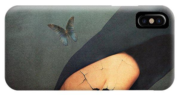 Damage iPhone Case - Torment by Jacky Gerritsen