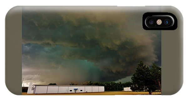 Tornadic Supercell IPhone Case