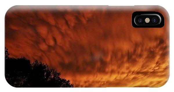 Tornado Warning IPhone Case