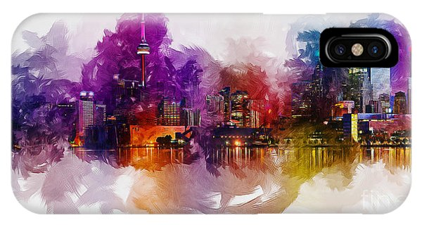 Toronto Canada Skyline IPhone Case