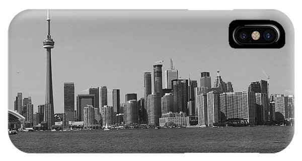 Toronto Cistyscape Bw IPhone Case