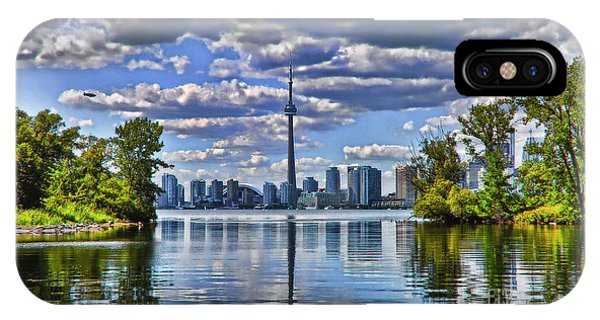 Toronto City View Phone Case by Elaine Manley