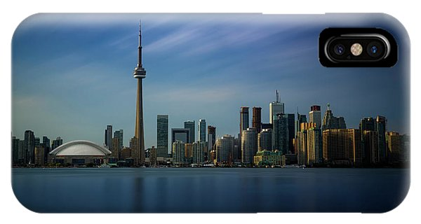 Toronto Cityscape IPhone Case