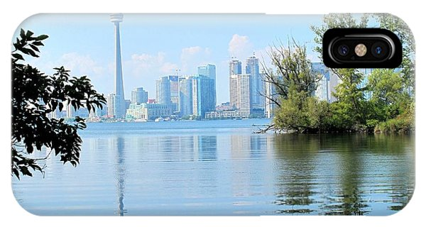 Toronto From The Islands Park IPhone Case