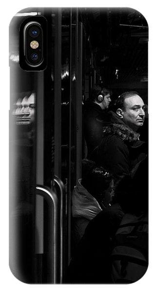 Toronto Subway Reflection IPhone Case