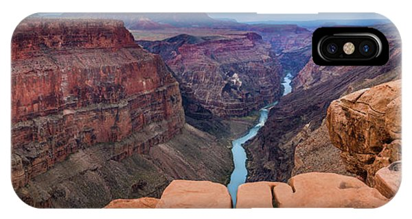 Grand Canyon iPhone Case - Toroweap Panorama by Inge Johnsson