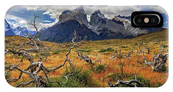 Torres Del Paine 18 IPhone Case