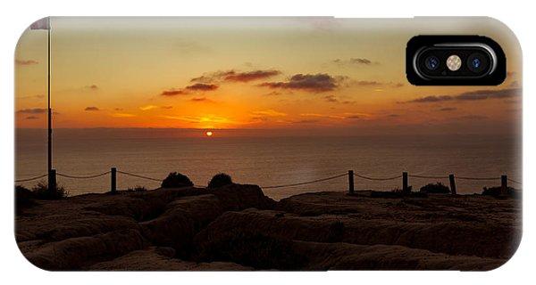 Torrey Pine Glider Port Sunset IPhone Case