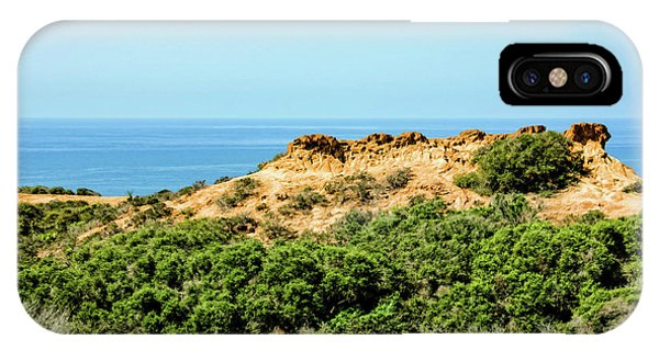 Torrey Pines California - Chaparral On The Coastal Cliffs IPhone Case