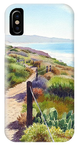 California iPhone Case - Torrey Pines Guy Fleming Trail by Mary Helmreich