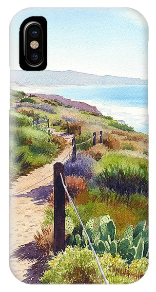 Torrey Pines Guy Fleming Trail IPhone Case