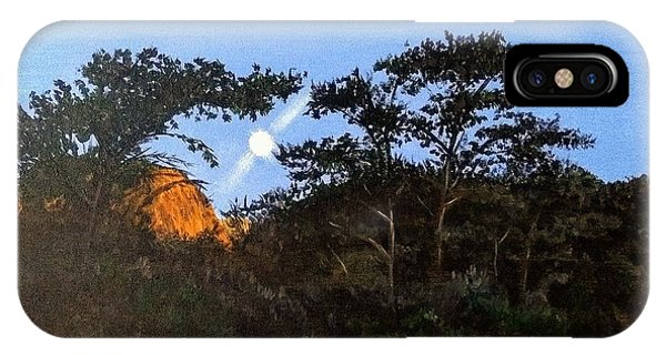 IPhone Case featuring the painting Torrey Pines In The Morning by Kevin Daly