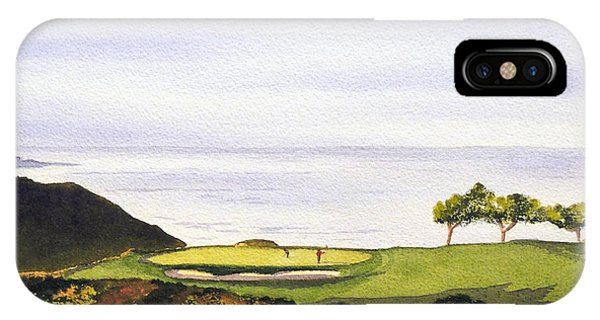 South Pacific Ocean iPhone Case - Torrey Pines South Golf Course by Bill Holkham