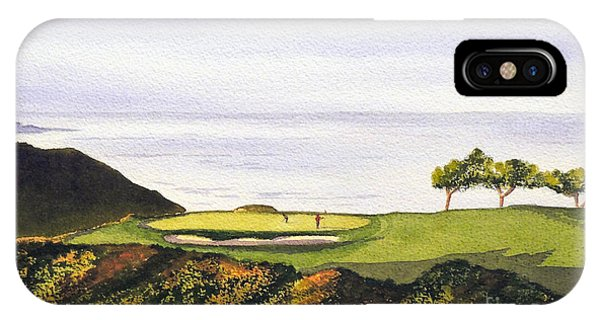 Torrey Pines South Golf Course IPhone Case