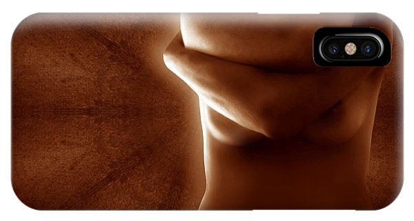 Torso In Russet IPhone Case