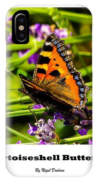 Tortoiseshell Butterfly. IPhone Case