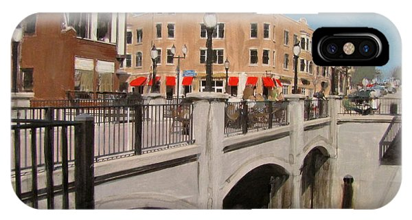 Tosa Village Bridge IPhone Case