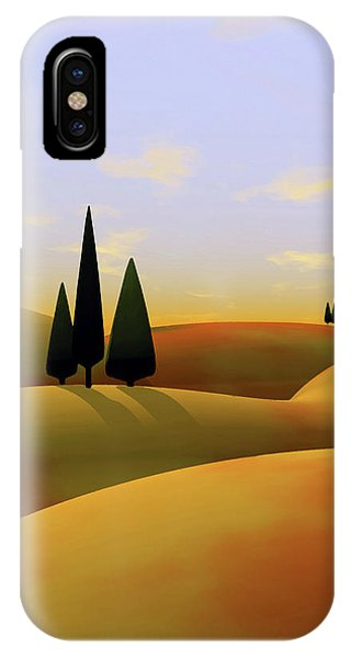 Hill iPhone Case - Toscana 3 by Cynthia Decker