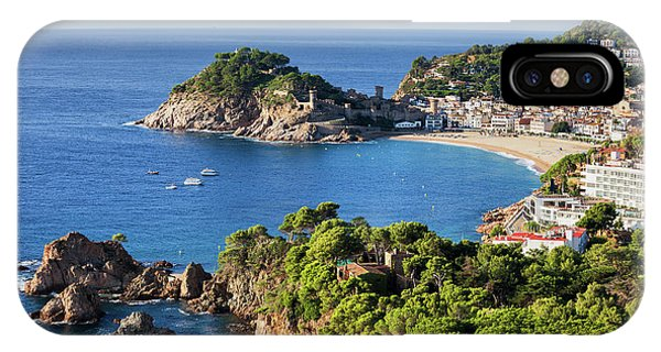 Tossa De Mar Sea Town On Costa Brava In Spain IPhone Case