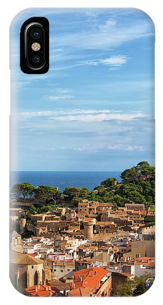 Tossa De Mar Seaside Town In Spain IPhone Case