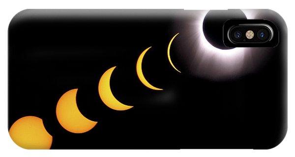 Total Eclipse Sequence, Aruba, 2/28/1998 IPhone Case