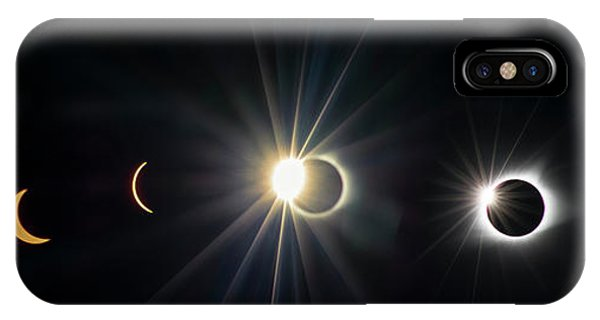 Total Solar Eclipse Sequence IPhone Case