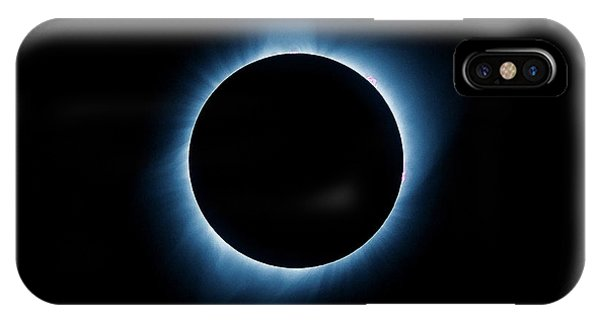 IPhone Case featuring the photograph Totality by Rikk Flohr