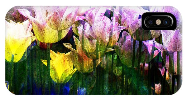 Totally Tulips IPhone Case