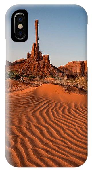 Totem Pole IPhone Case