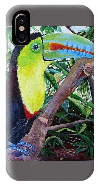 Toucan Portrait IPhone Case