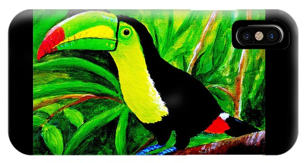 Toucan Sam IPhone Case