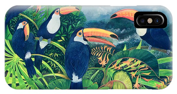 Toucan Talk IPhone Case
