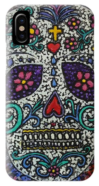 Touch Of Death IPhone Case