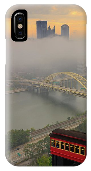 Touch Of Fog  IPhone Case