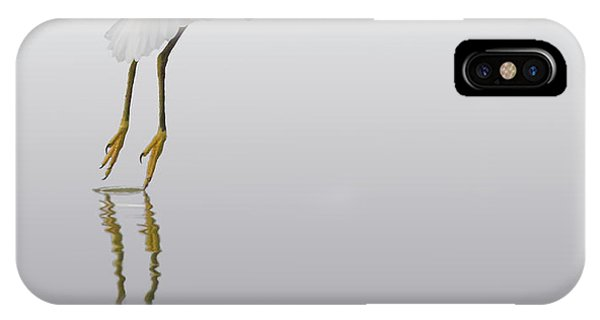 Touching Down IPhone Case