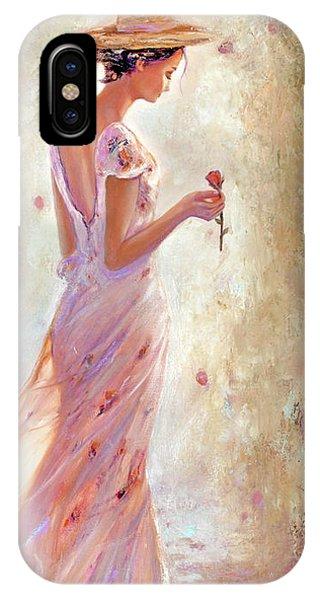 Toujours De Fleurs IPhone Case
