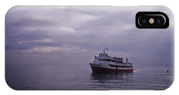 Tour Boat San Francisco Bay IPhone Case