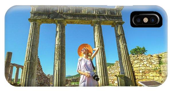Tourist Traveler Photographer IPhone Case