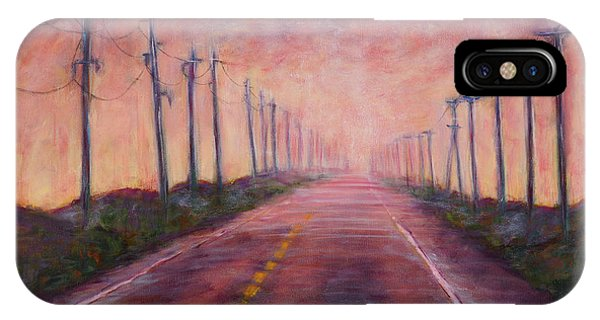 Pylon iPhone Case - Towards Light by Michelle Gill